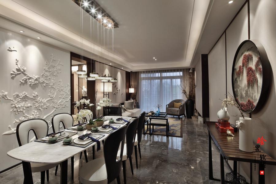 晗昱軟裝中天未來方舟新中式家居,清雅的東方情調餐廳2.jpg