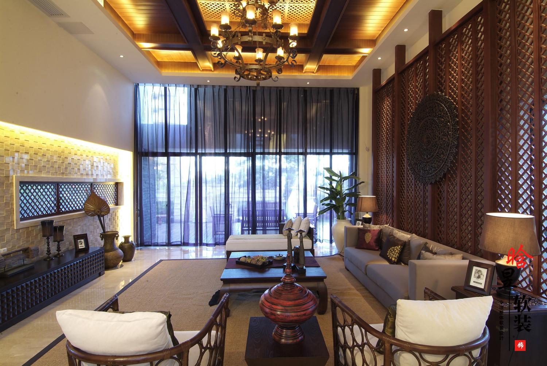 花溪平橋山莊東南亞家居,給你獨特的異域感受客廳2.jpg