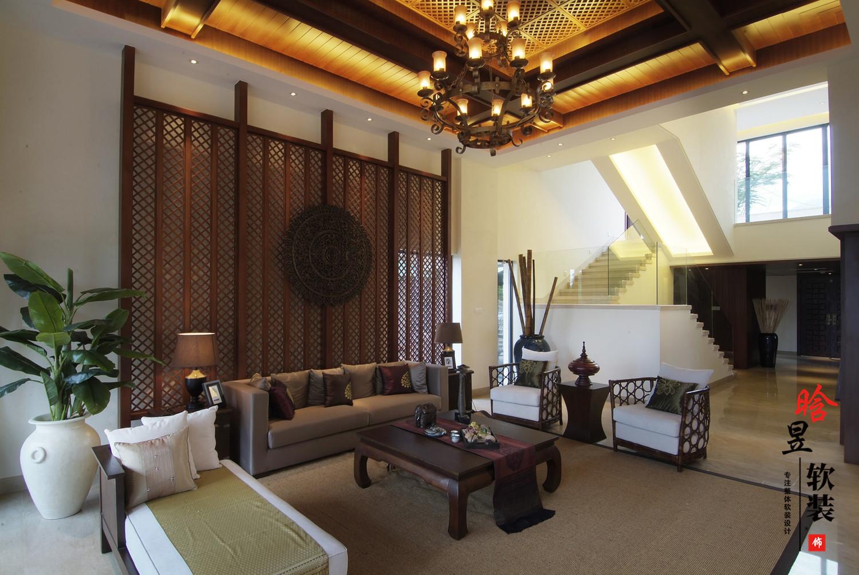 花溪平橋山莊東南亞家居,給你獨特的異域感受客廳1.jpg