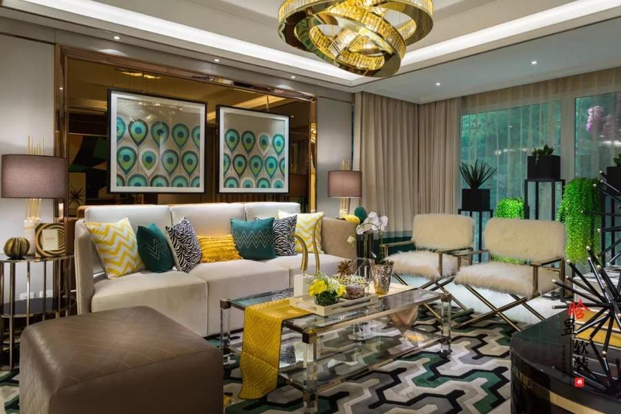 晗昱軟裝美的林城時代現代輕奢家居,讓個性標記生活客廳2.jpg