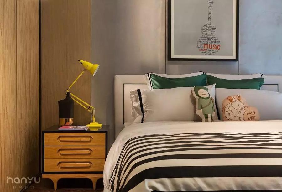 實景案例 中鐵逸都現代簡約家居,就愛這樣的純粹兒童房2.jpg