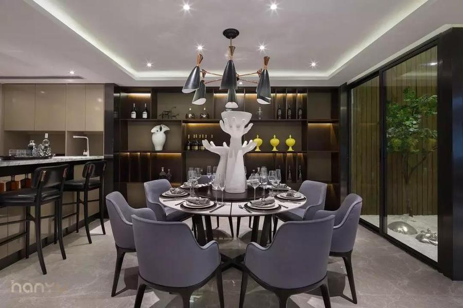 實景案例 中鐵逸都現代簡約家居,就愛這樣的純粹采餐廳2.jpg
